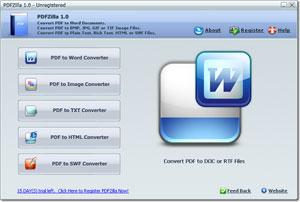 pdf a word PDF a word con PDFZilla gratis por tiempo limitado
