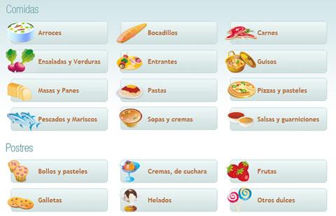 recetario cocina Recetas de cocina en ¿Qué hay en la nevera?