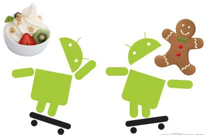android froyo vs gingerbread Diferencias entre la versión de Android 2.3 y Android 2.2