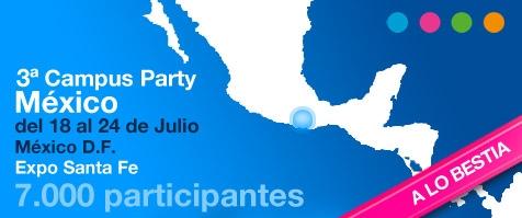 campus party mexico 2011 Campus Party México 2011