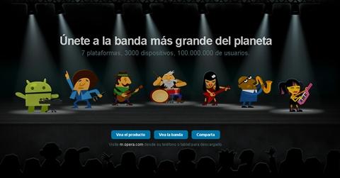 opera mini mobile band Opera Mini 6 y Opera Mobile 11 disponibles