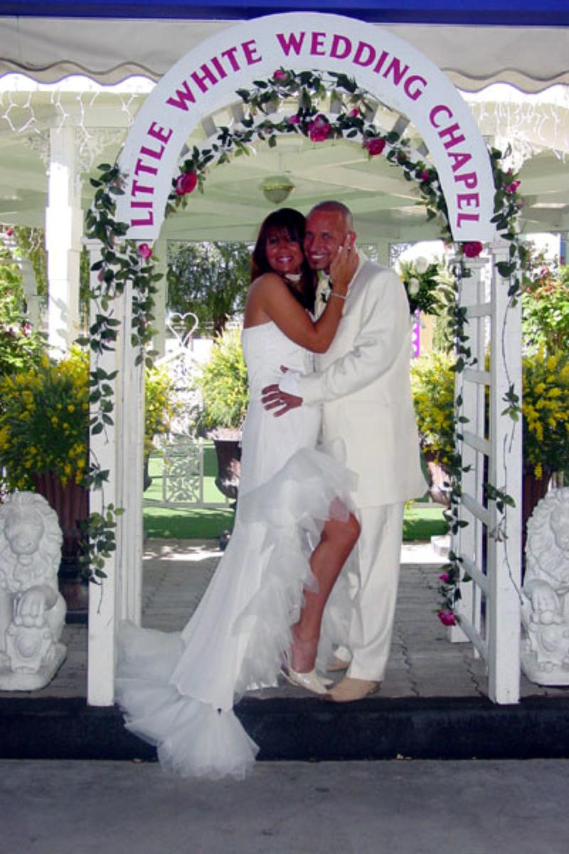 A Little White Wedding Chapel vegas wedding chapels A Little White Wedding Chapel wedding venue picture 7 of 11 Provided by A