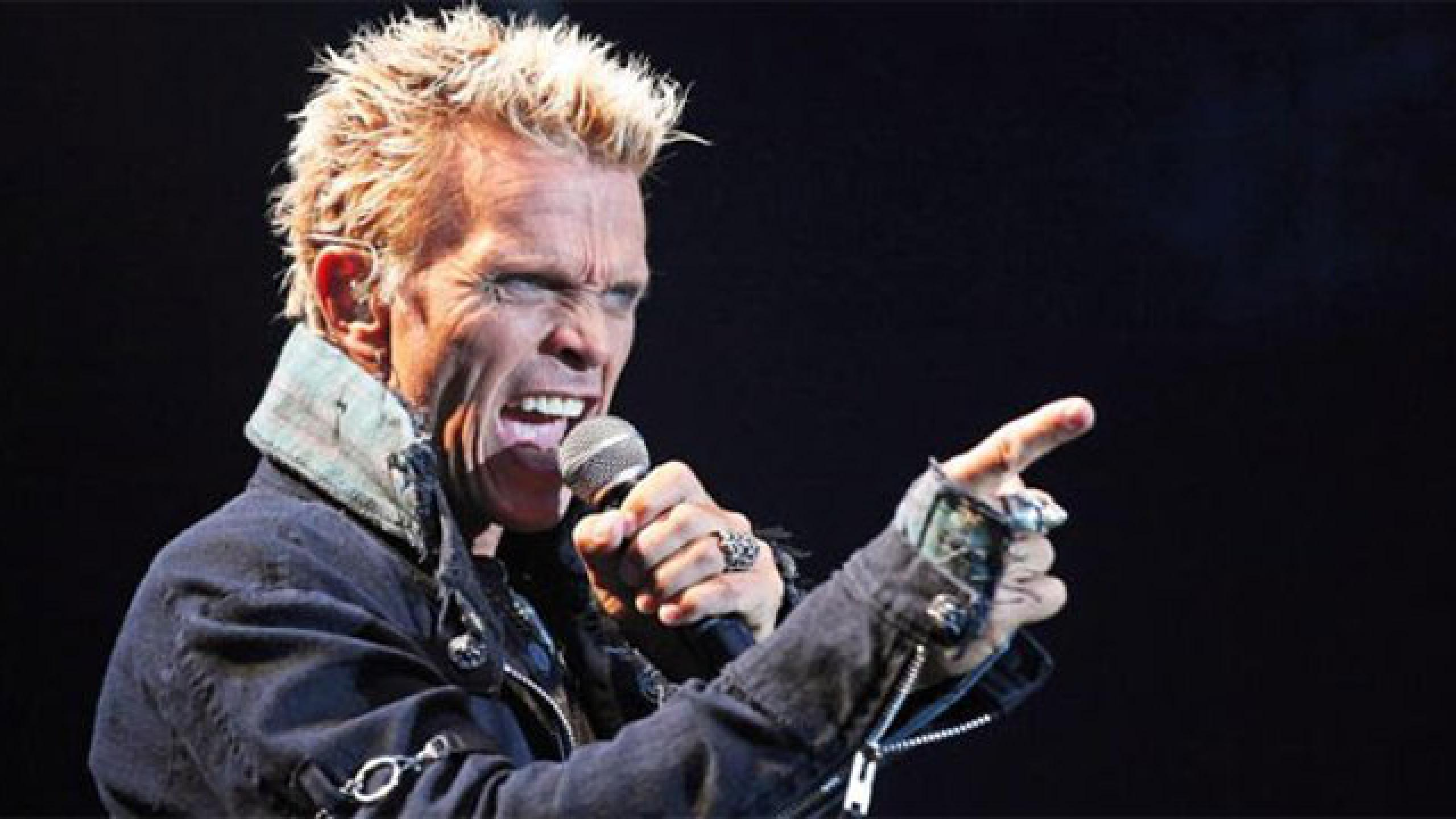Billy Idol tour dates 2017 2018  Billy Idol tickets and concerts   Wegow