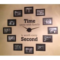 Riveting Gallery Family Photo Wall Clock Diy Familyphoto Wall Clock Diy Family Photo Wall Clock Easy To Read Wall Clocks Senior Citizens Easy To Read Wall Clock View