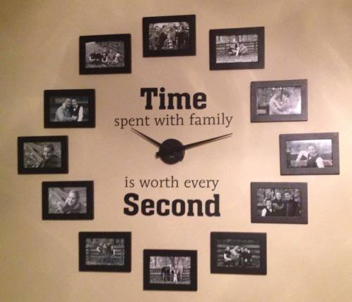 Medium Of Easy To Read Wall Clock