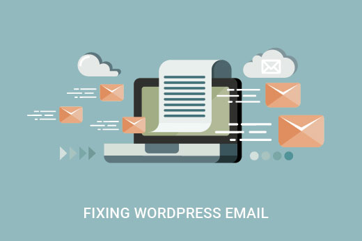 Fixing email issues in WordPress