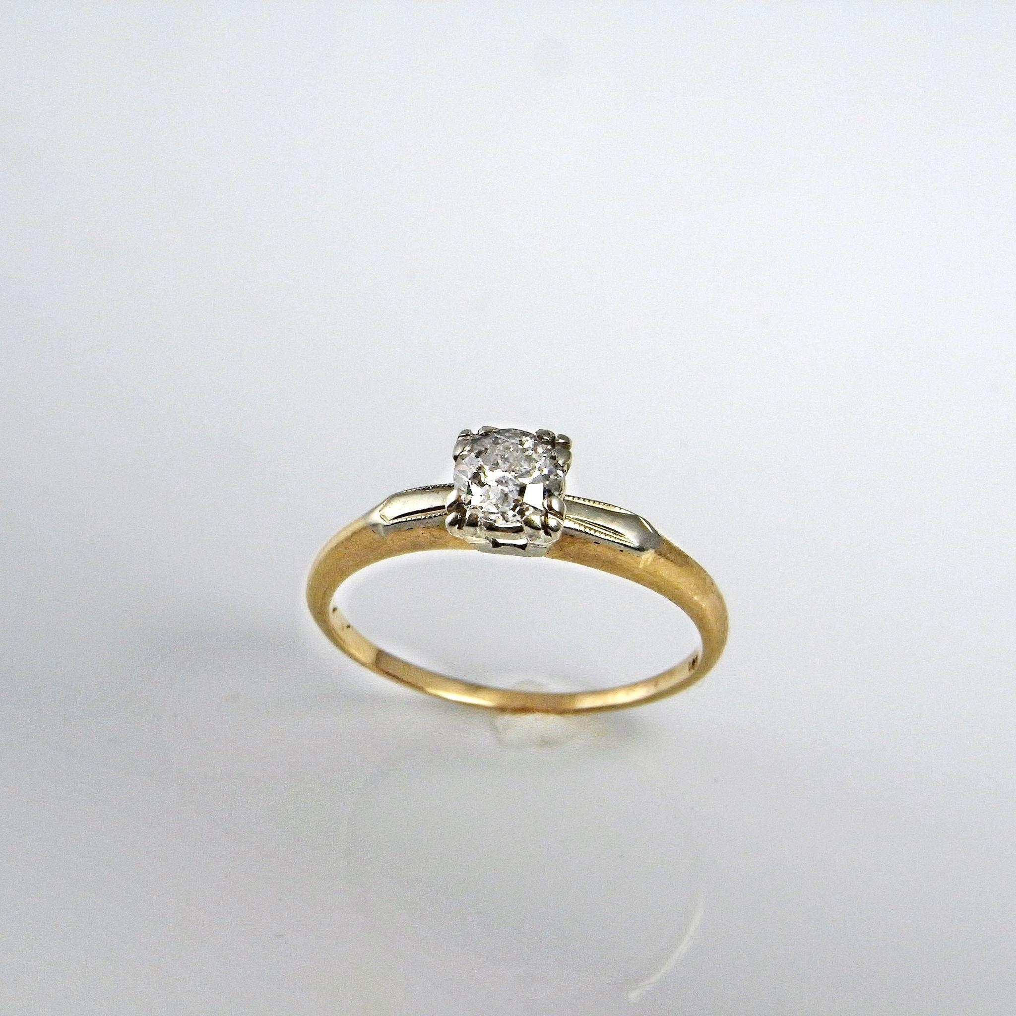 Antique s Engagement Ring Estate Jewelry vintage wedding rings Roll over Large image to magnify click Large image to zoom