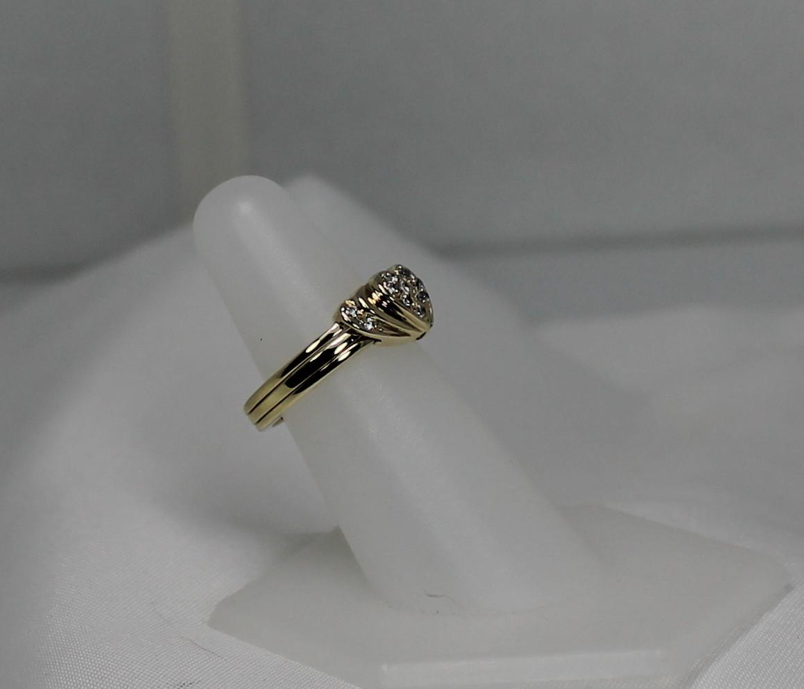 Surprisex21 Lovely Hinged x22Broken Heartx22 Diamond hinged wedding ring Roll over Large image to magnify click Large image to zoom