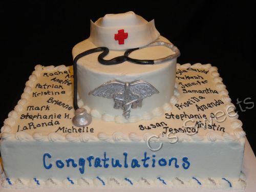 Medium Of Nursing Graduation Caps