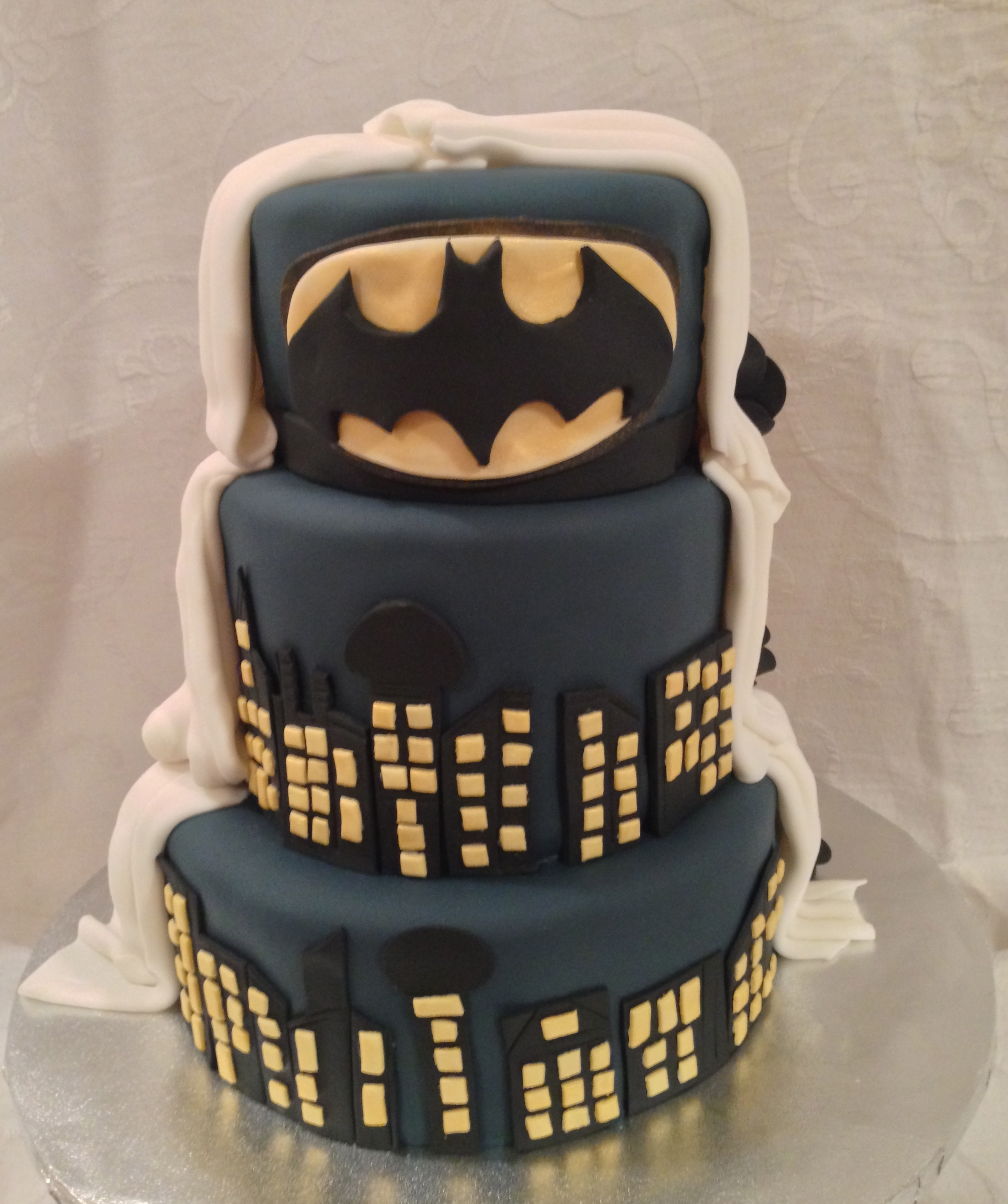 Fullsize Of Batman Wedding Cake