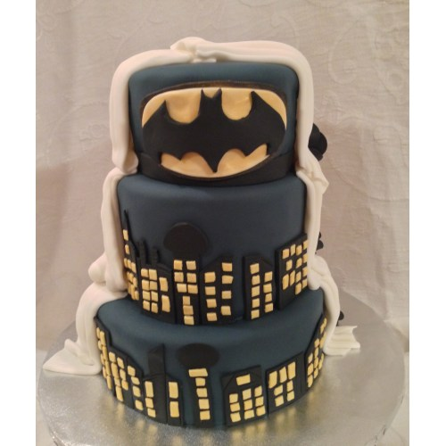 Medium Crop Of Batman Wedding Cake