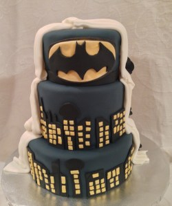Small Of Batman Wedding Cake
