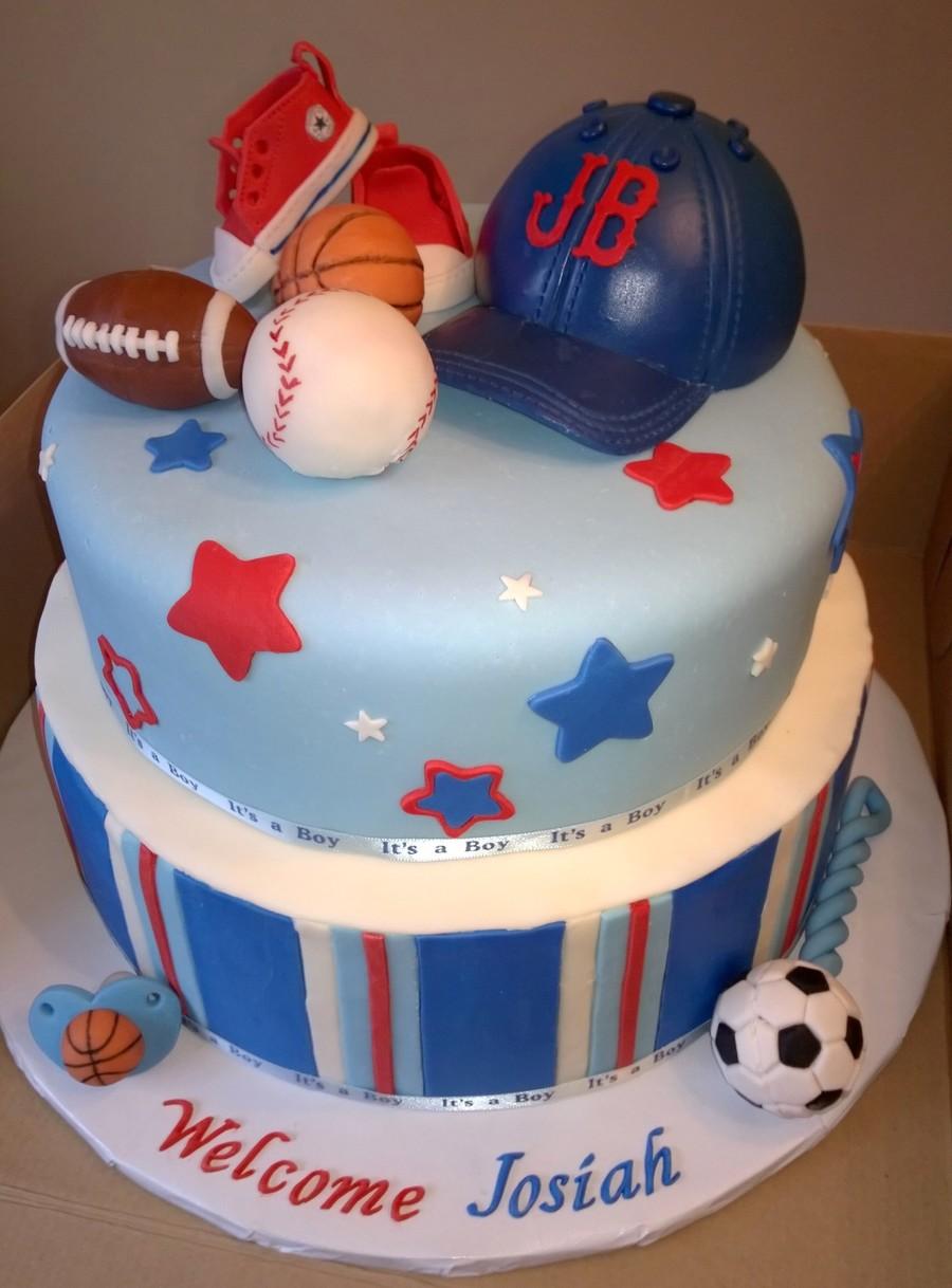 Fullsize Of Boy Baby Shower Cakes