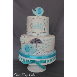 Small Crop Of Baby Shower Cake Ideas