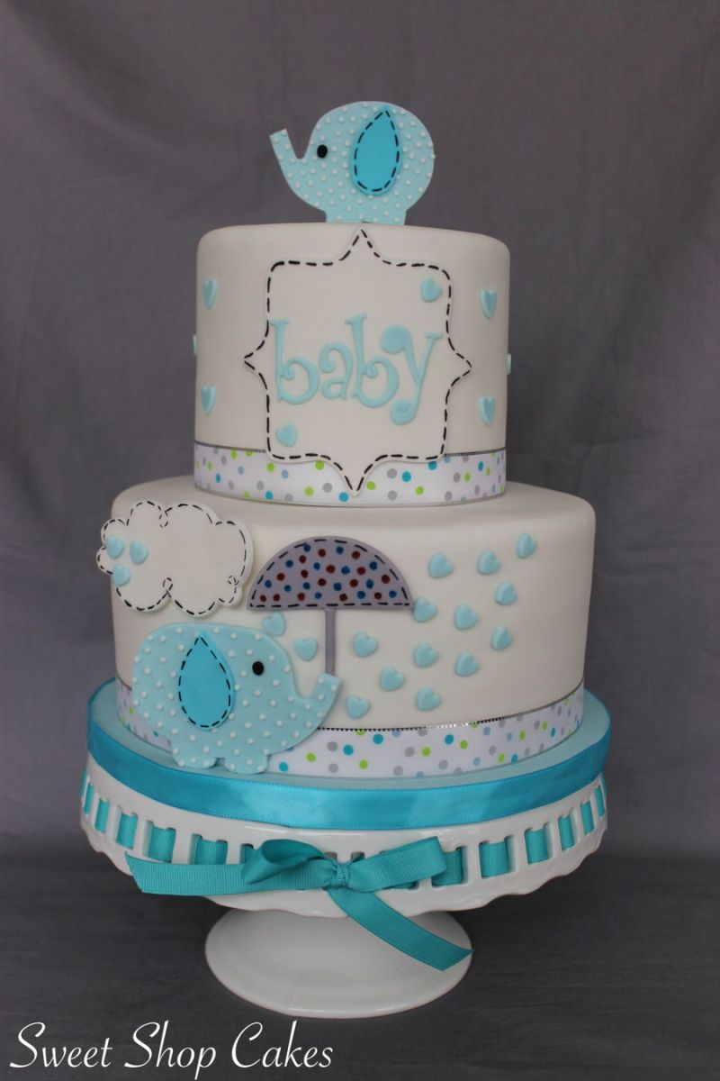 Large Of Baby Shower Cake Ideas