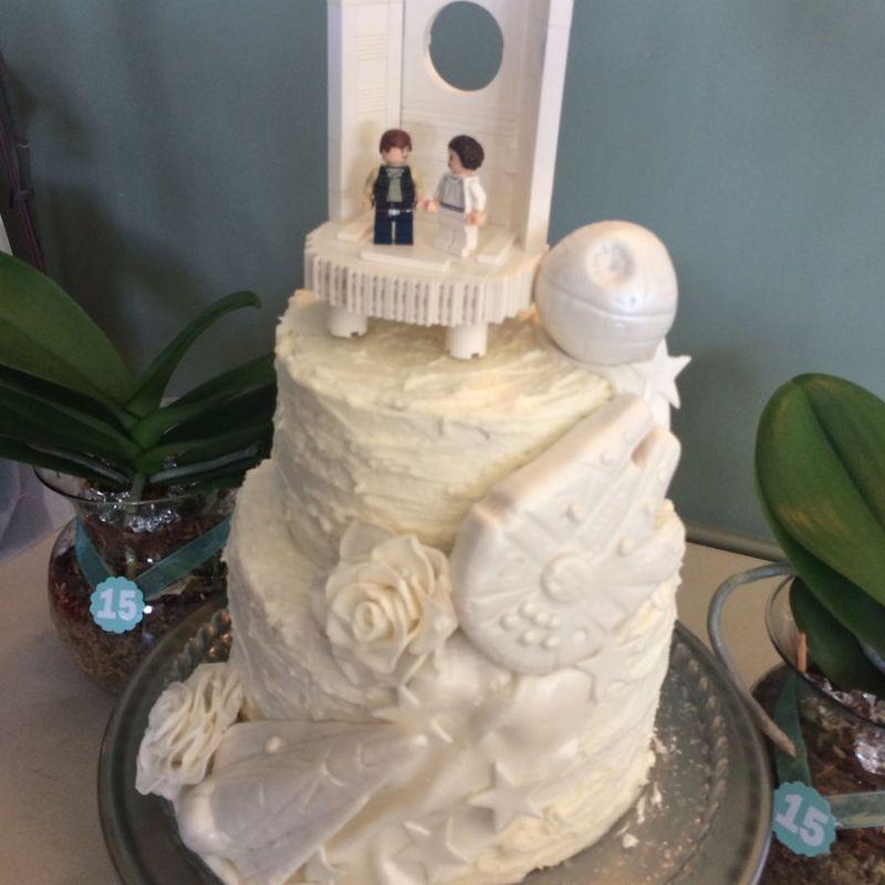 Large Of Star Wars Wedding Cake