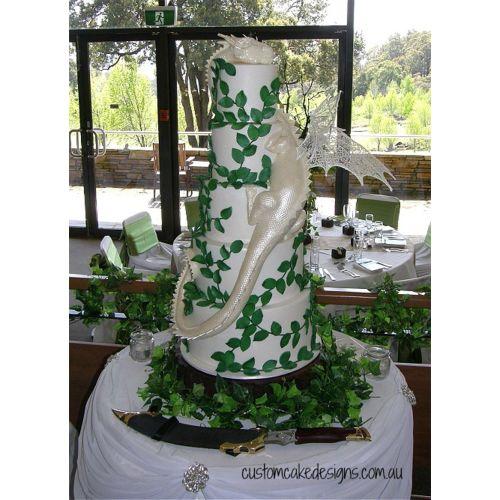 Medium Crop Of Dragon Wedding Cake