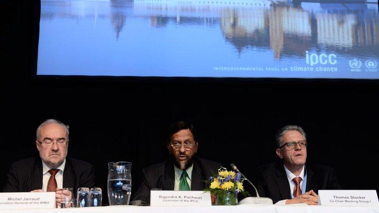 El Panel Intergubernamental sobre elCambio Climático(IPCC) presenta su informe 2013 en Suecia.