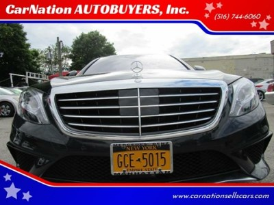 CarNation AUTOBUYERS Inc    Used Cars   Rockville Centre NY Dealer 2015 Mercedes Benz S Class Email for Price