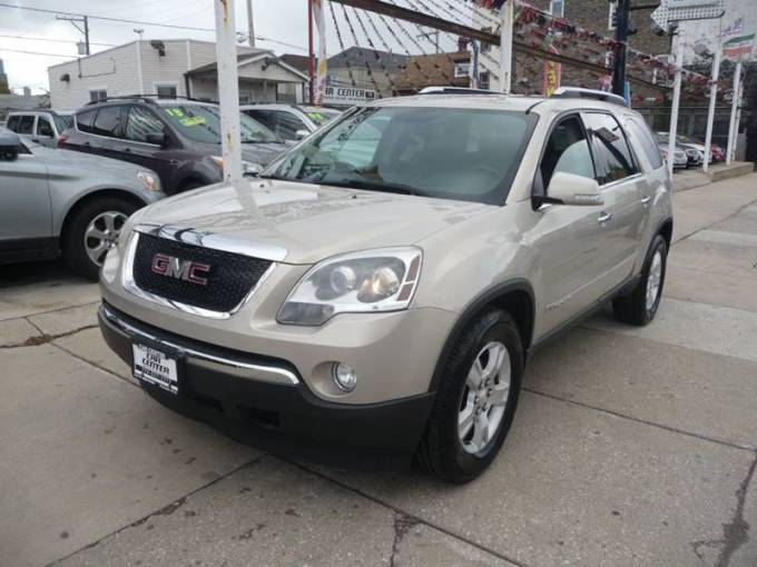 2008 GMC Acadia SLT 2 In Chicago IL   Car Center 2008 GMC Acadia for sale at Car Center in Chicago IL