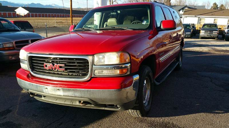 2000 Gmc Yukon Xl 1500 SLE 4dr 4WD SUV In Wheat Ridge CO   Harlan     2000 GMC Yukon XL 1500 SLE 4dr 4WD SUV   Wheat Ridge CO