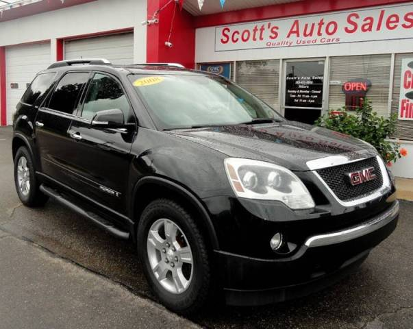 2008 GMC Acadia SLT 1 In Watervliet MI   SCOTT S AUTO SALES LLC 2008 GMC Acadia for sale at SCOTT S AUTO SALES LLC in Watervliet MI