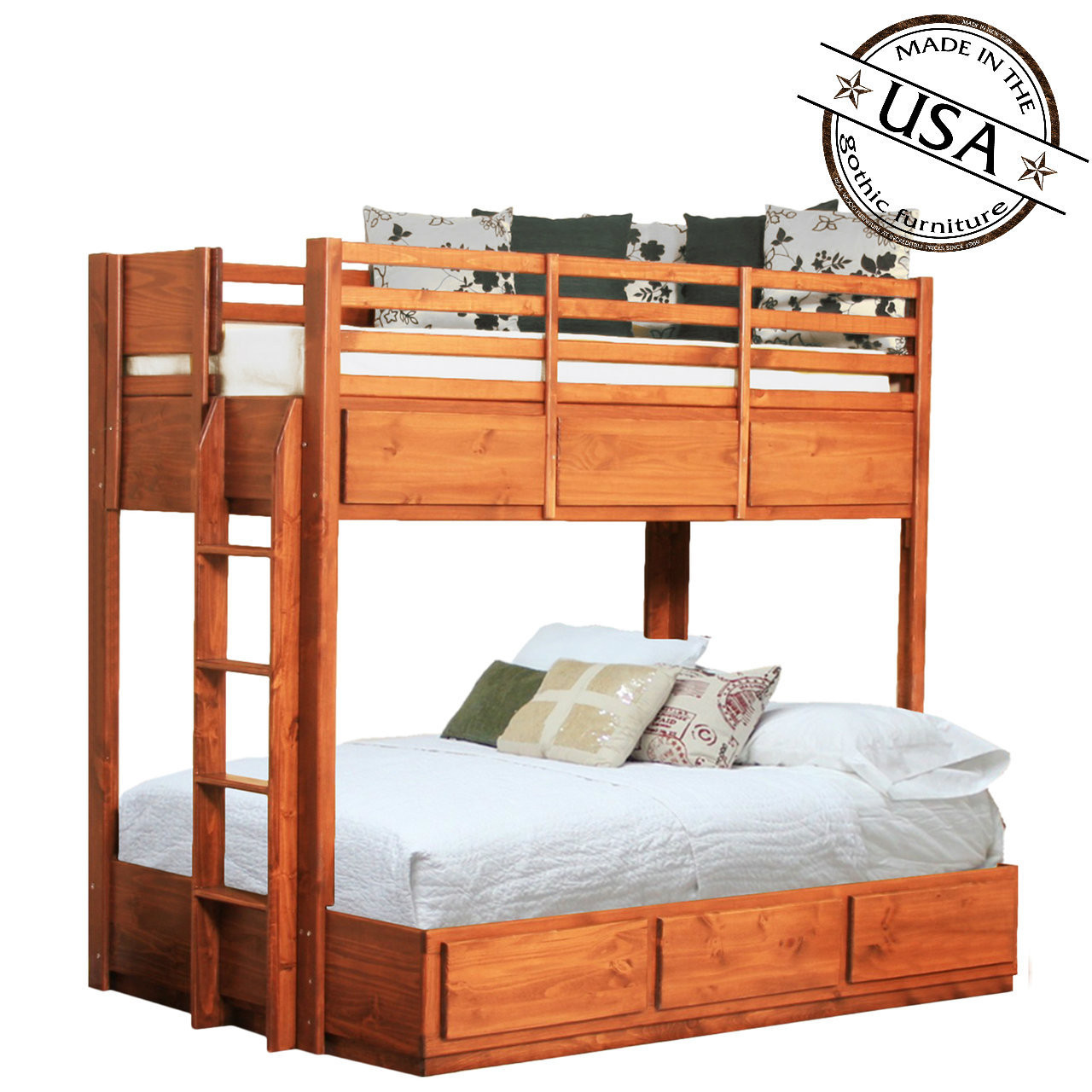 Special Loft Beds Gothic Gothic Cabinet Craft Dresser Gothic Cabinet Craft Elmsford Ny Twin Over Full Bunk Bed Pine All Categories Bedroom Beds Bunk houzz-02 Gothic Cabinet Craft