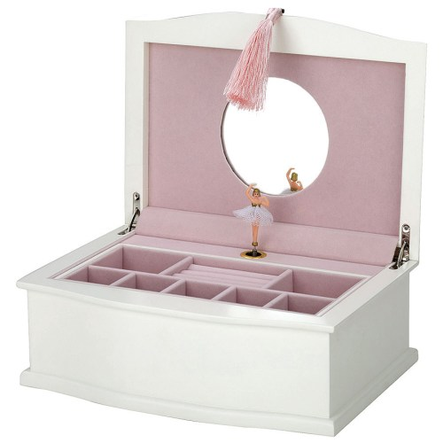 Medium Of Ballerina Jewelry Box