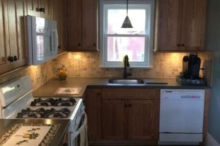 simple kitchen design for small house 16