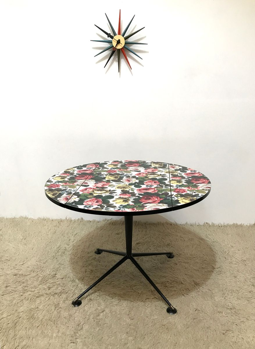 50s outstanding rare formica kitchen table atomic mid century vintage s kitchen table Mid Century Formica Kitchen Table s