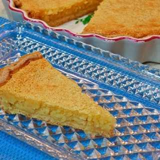 Lazy Mary's Lemon Tart - a slice (1 of 1)