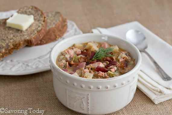 Springtime in the Rockies and Salmon Dill Chowder