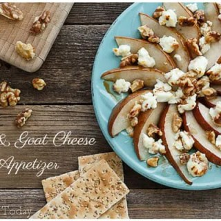 Pear & Goat Cheese App | Savoring Today (1 of 1) copy