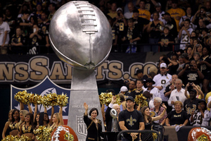 Remember that owner of the Saints who helped get this Lombardi? He's been voted into the Saints Hall of Fame. (Photo by Ronald Martinez/Getty Images)