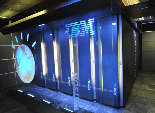 IBM's Watson (courtesy The Verge)