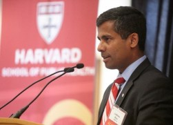 Incoming Alumni Council President Anthony Dias, MPH '04