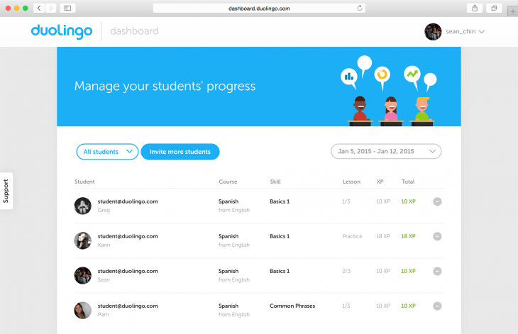 Duolingo for schools 730x471 Duolingo for Schools brings the language learning platform into the classroom