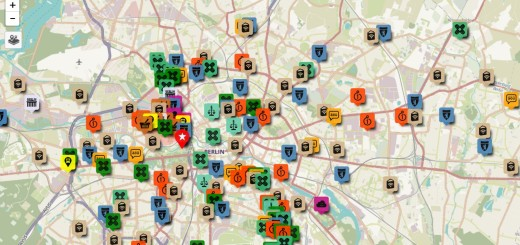 Berlin Refugee Map