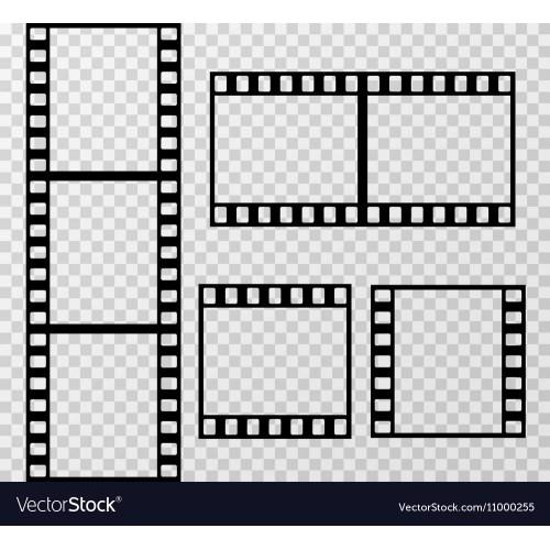 Medium Crop Of Film Strip Template