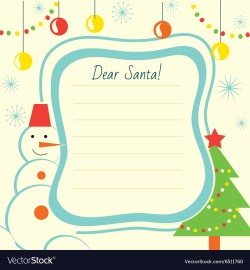 Manly Print Letter Templates Free Printable Letter Template Twinkl Print Vector Image Letter Template To Santa Claus Letter Template To Santa Claus