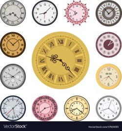 Small Of Fancy Clock Faces