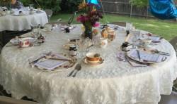 Peculiar Cake Company Brings Your Bridal Shower To Tea Party Bridal Shower Cake Tea Party Bridal Shower Attire Courtesy Photo Vintage Tea