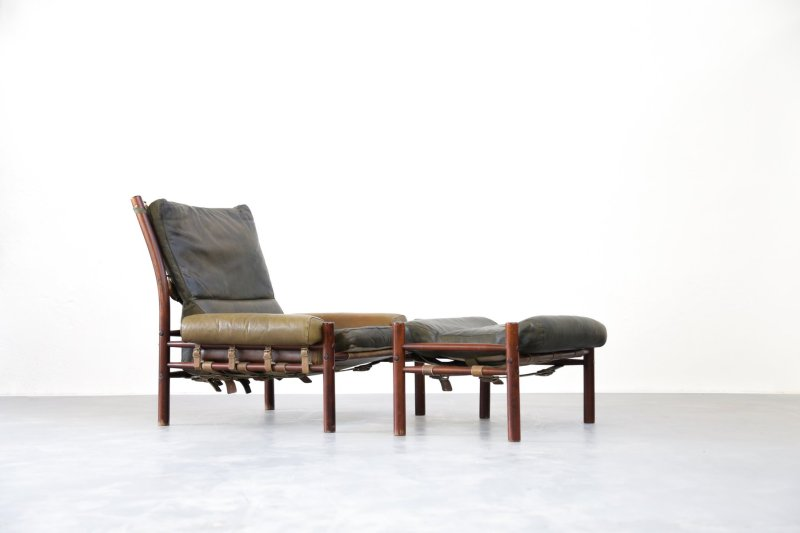 Large Of Mid Century Chair Leather