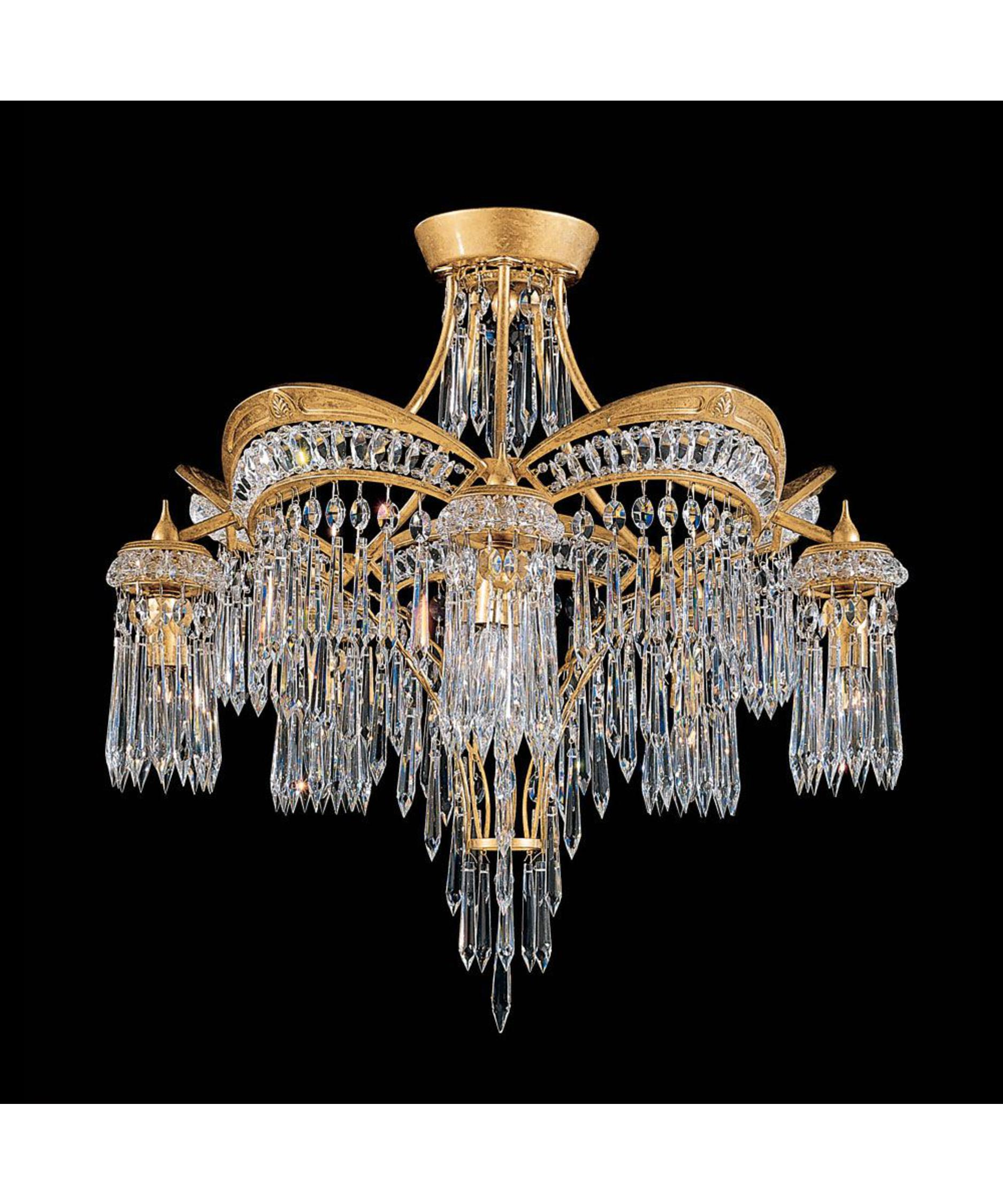 Fullsize Of Flush Mount Chandelier