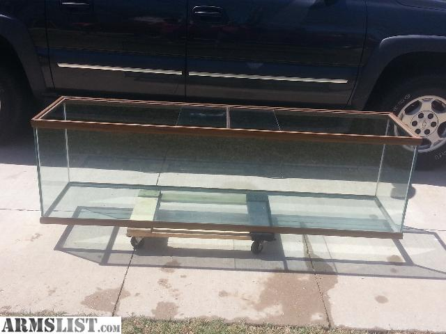 ARMSLIST   For Sale/Trade: 125 gallon aquarium and custom wooden stand