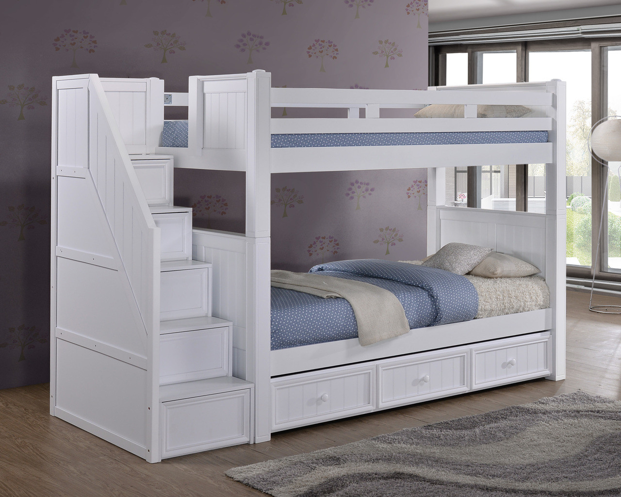 Teal Dillon Twin Bunk Bed Drawers Wood Loft Bed Queen Storage Stairs Dillon Twin Overtwin Bunk Bed Dillon Twin Over Twin Wood Bunk Bed Desk Reversible Storage Stairs Wood Loft Bed baby Wood Loft Bed