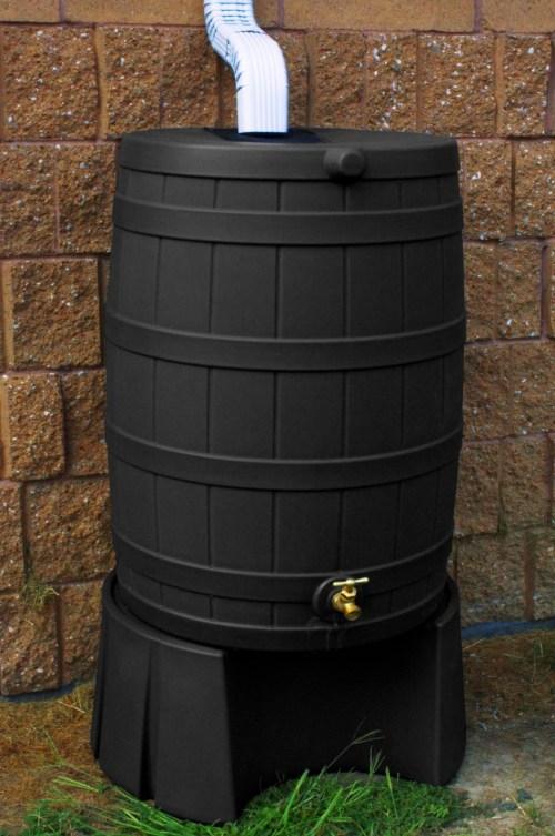 Medium Of Rain Barrel Stand