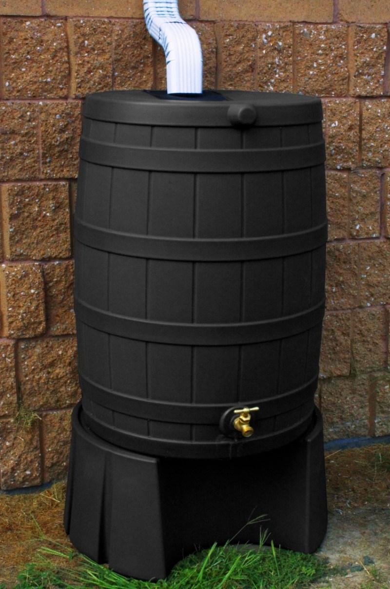 Large Of Rain Barrel Stand