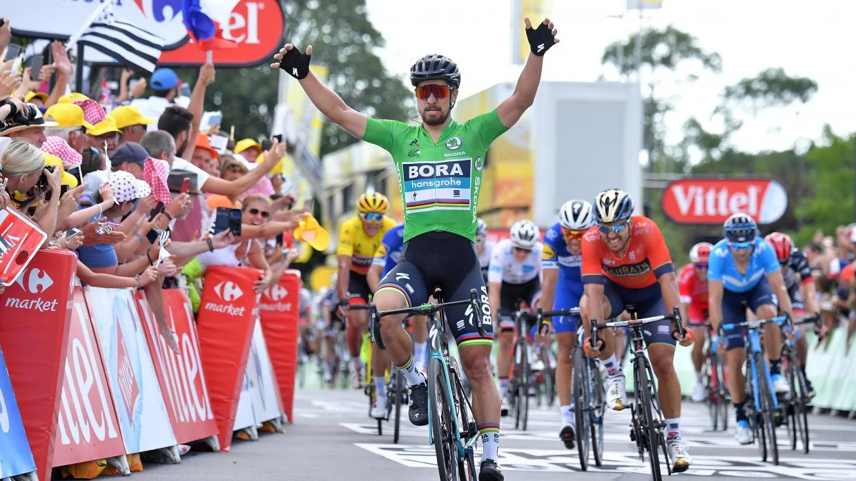 Tour de France 2018  Sagan doubles up with impressive win on Stage 5     Tour de France 2018  Sagan doubles up with impressive win on Stage 5
