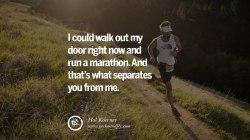 Half Marathon Running Inspirational John Bingham Quote Courage to photo